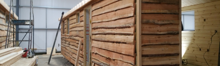 Image for Waney Edge Larch Cladding