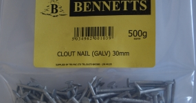 Image for Clout Nails - Galvanised