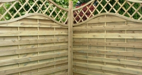 Image for Milan Fence Panels